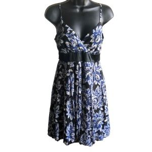 INC  Silk Chiffon Floral Dress